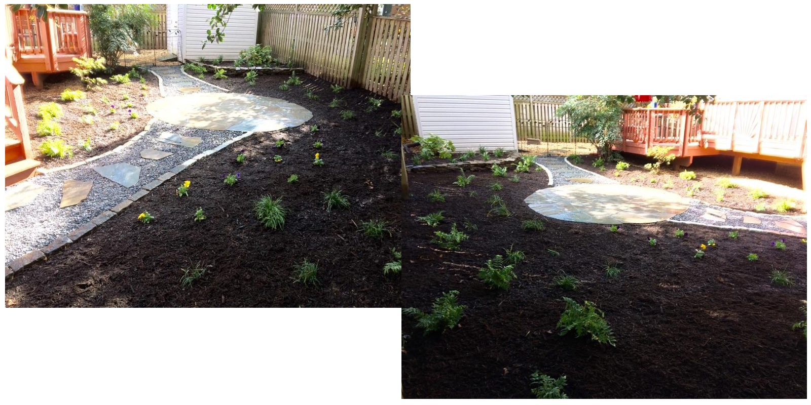 Landscapers Annapolis Mulching