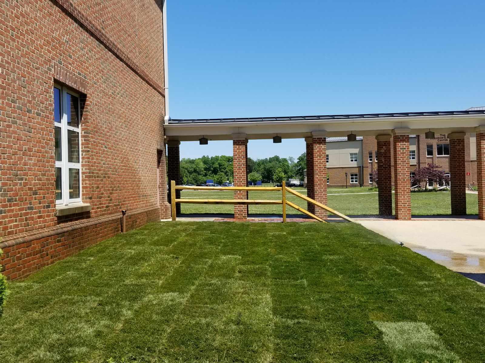 Sod install in Crownsville MD